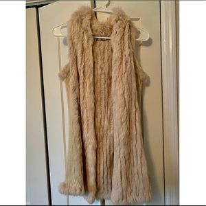Women's Love Token fur vest